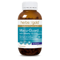 Herbs Of Gold Macu Guard with Bilberry 90 vcaps