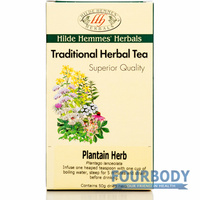Hilde Hemmes Traditional Tea Plantain 50g
