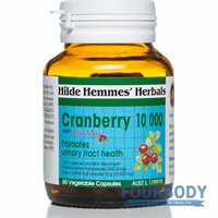 Hilde Hemmes Herbal's Cranberry 10,000 60 vcaps