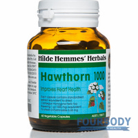Hilde Hemmes Herbal's Hawthorn 1000mg 60 vcaps
