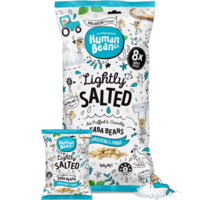 Human Bean Co Faba Beans Lightly Salted 8 x 20g
