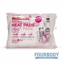 Hotteeze Stick-On Heat Pads 10pk