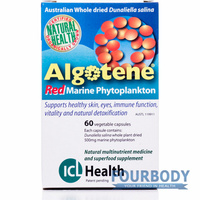 ICL Health Algotene Red Phytoplankton 60 vcaps