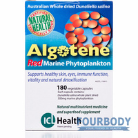 ICL Health Algotene Red Phytoplankton 120 vcaps