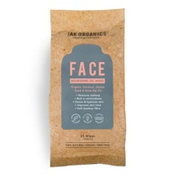 Jak Organics Nourishing Face Wipes 25s