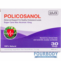 Johnson & Barana Policosanol 10mg 30 tabs