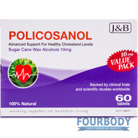 Johnson & Barana Policosanol 10mg 60 tabs
