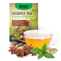Kintra Foods Licorice Tea Bags 25s
