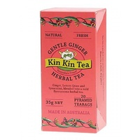 Kin Kin Tea Gentle Ginger Tea Bags 35g