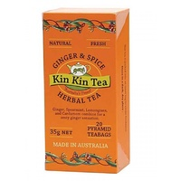 Kin Kin Tea Ginger & Spice Tea Bags 35g