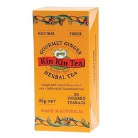 Kin Kin Tea Gourmet Ginger Tea Bags 35g