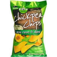 K & S Foods Chickpea Chips Sour Cream 175g