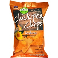 K & S Foods Chickpea Chips Barbecue 175g