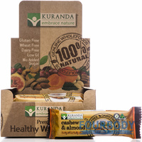 Kuranda Natural Bars Cashew & Almond 45g