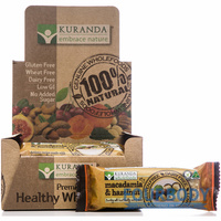 Kuranda Natural Bars Macadamia Hazelnut 45g