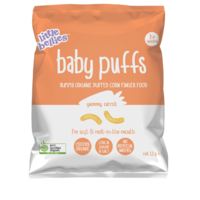 Little Bellies Baby Puffs Carrot 12g