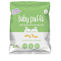 Little Bellies Baby Puffs Apple Cinnamon 12g