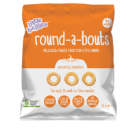 Little Bellies Roundabouts Pumpkin 12g