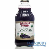 Lakewood Concord Grape Juice Organic 946ml