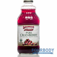 Lakewood Cranberry Juice Organic 946ml
