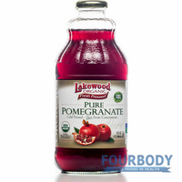 Lakewood Pomegranate Juice Organic 946ml