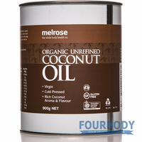 Melrose Organic Coconut Oil Unrefined 900g