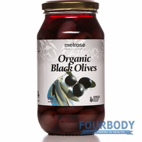 Melrose Organic Olives Black 290g