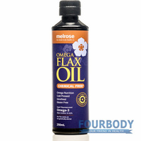 Melrose Flaxseed Oil Chemical Free 250ml