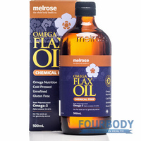 Melrose Flaxseed Oil Chemical Free 500ml