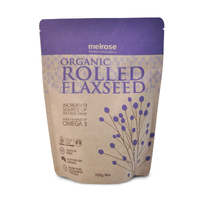 Melrose Rolled Flaxseed Organic 350g