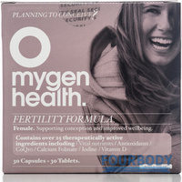 Mygen Health Fertility Formula Female 30t + 30c