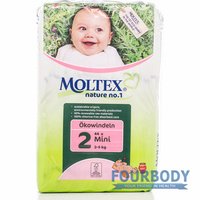 Moltex Nature Eco Nappy Mini (3-6kg) 44s