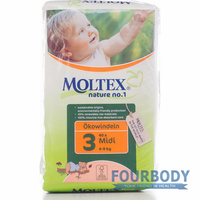 Moltex Nature Eco Nappy Maxi (7-18kg) 30s