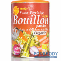 Marigold Health Foods Bouillon Org Vegan Red 500g