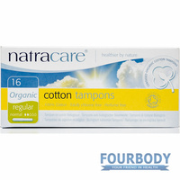 Natracare Tampons Applicator Regular 16s