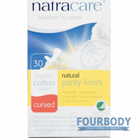 Natracare Panty Liners Curved 30s