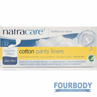 Natracare Panty Liners Ultra Thin 22s