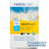 Natracare Pads Super Maxi 12s