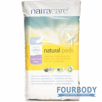 Natracare Pads Night Times Maxi 10s