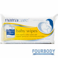 Natracare Baby Wipes 50s