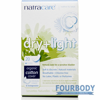 Natracare Incontinence Pads Dry & Light 20s