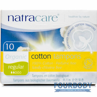 Natracare Tampons Regular 10s