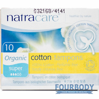 Natracare Tampons Super 10s