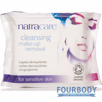 Natracare Cleansing Wipes 20s