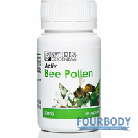 Natures Goodness Activ Bee Pollen 500mg 60 caps