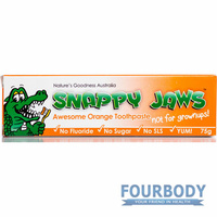 Natures Goodness Snappy Jaws Toothpaste Orange 75g