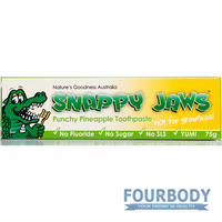 Natures Goodness Snappy Jaws Toothpaste Pineapple 75g