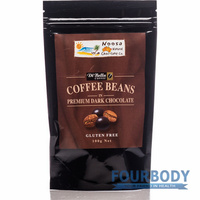 Noosa Natural Chocolate Co. Coffee Beans in Dark Choc 100g