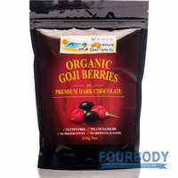 Noosa Natural Chocolate Co. Goji Berries in Dark Choc 315g