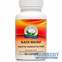 Nature's Sunshine Black Walnut 500mg 100 caps